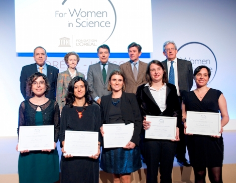 Ganadoras IX edic For Women in Science