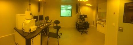 Sala Blanca Nanoelectronica- Litografía