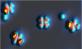 Dopaje de moléculas átomo por átomo. Ftalocianinas de cobre depositadas en una superficie de Ag(111) son dopadas con Li átomo por átomo usando la sonda de un microscopio de efecto túnel para mover los dopantes. Aitor Mugarza, Atomic Manipulation and Spectroscopy Group. Institut Català de Nanociència i Nanotecnologia (ICN2)